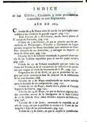 Suplemento á la Coleccion de pragmáticas, cédulas ... y otras providencias publicados en el actual reynado del señor don Carlos iv. Comprehende la respectivas á el año de 1803: Volumen 12