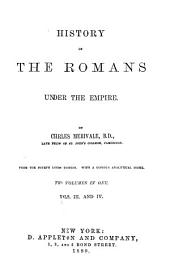 The History of the Romans Under the Empire: Volumes 3-4