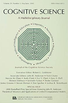 2004 Rumelhart Prize Special Issue Honoring John R  Anderson PDF