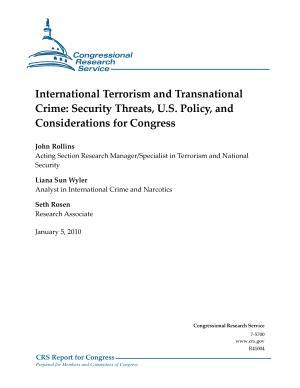 International Terrorism and Transnational Crime PDF