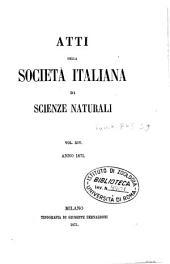Atti della Società italiana di scienze naturali