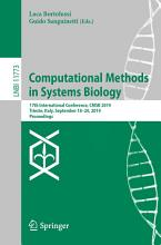 Computational Methods in Systems Biology PDF
