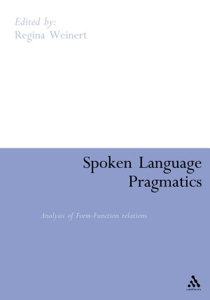 Spoken Language Pragmatics