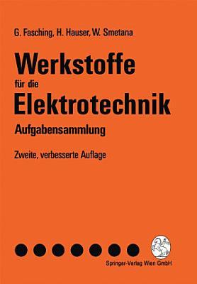 Werkstoffe F R Die Elektrotechnik