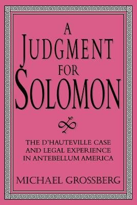 A Judgment for Solomon PDF