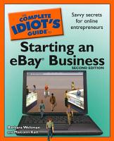 The Complete Idiot s Guide to Starting an Ebay Business  2nd Edition PDF