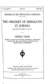 The children of immigrants in schools