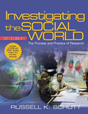 Investigating the Social World with SPSS Student Version 14 0