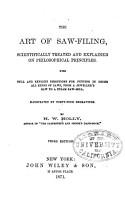 The Art of Saw filing PDF