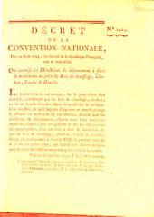 Decret de la Convention Nationale: Volume 1403