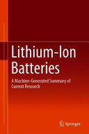 Download Lithium ion Batteries Book