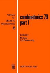 Combinatorics 79: Part 1