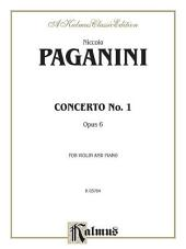 Concerto No. 1, Op. 6: String - Violin and Piano