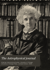 The Astrophysical Journal: Volume 42