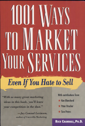 1001 Ways to Market Your Services PDF