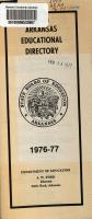 Arkansas Educational Directory PDF