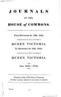 Journals of the House of Commons PDF
