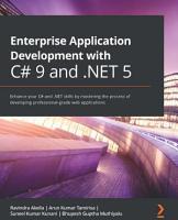 Enterprise Application Development with C  9 and  NET 5 PDF