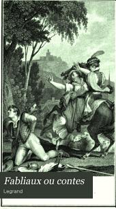 Fabliaux ou contes: fables et romans du XIIe et du XIIIe siècle, Volume2