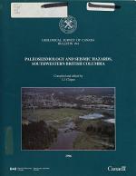 Paleoseismology and Seismic Hazards  Southwestern British Columbia PDF