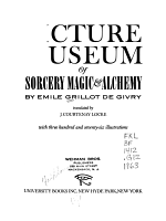 Picture Museum of Sorcery, Magic & Alchemy