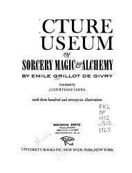 Picture Museum of Sorcery  Magic   Alchemy PDF