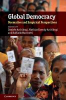 Global Democracy PDF