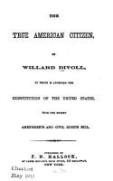 The True American Citizen PDF