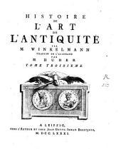 Histoire de l'art de l'antiquité: Volume3
