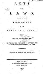Vermont Acts