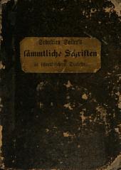 Sebastian Sailers̓ Sämmtliche Schriften in schwäbischem Dialekte
