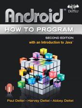 Android How to Program: Edition 2