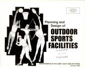 Planning and design of outdoor sports facilities