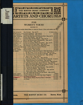 Chorus of Maidens: Trio for Women's Voices (orchestra Or Piano Accompaniment)