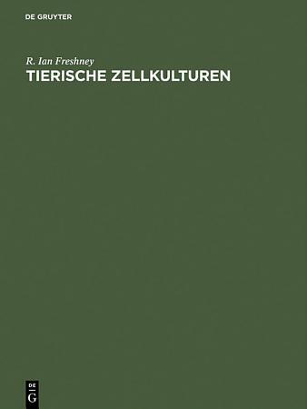 Tierische Zellkulturen PDF