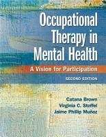 Occupational Therapy in Mental Health PDF