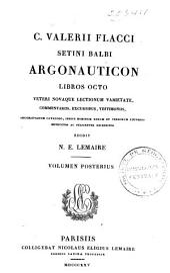 C. Valerii Flacci Setini Balbi Argonauticon libros octo: Volume 2