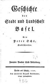 Geschichte der Stadt und Landschaft Basel: Band 2