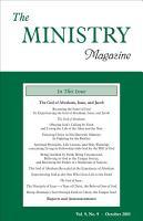 The Ministry  Vol  9  No  9 PDF