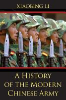 A History of the Modern Chinese Army PDF