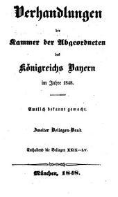Verhandlungen: Beilagen, Volumes 29-55