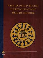 The World Bank Participation Sourcebook PDF