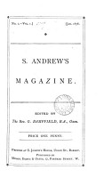 S  Andrew s magazine  ed  by G  Bampfield PDF