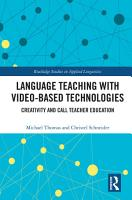 Language Teaching with Video Based Technologies PDF