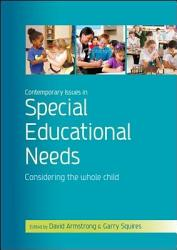 Contemporary Issues In Special Educational Needs Book PDF