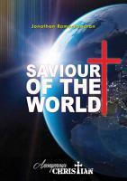 Saviour of The World PDF