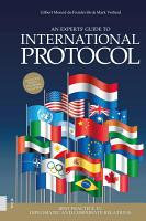 An Experts  Guide to International Protocol PDF