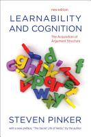 Learnability and Cognition PDF
