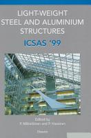 Light Weight Steel and Aluminium Structures PDF