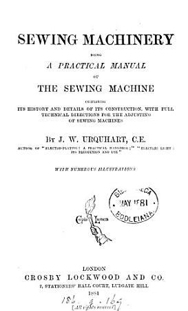 Sewing Machinery PDF